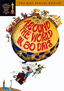 'Around the world in 80 days' - M. Anderson (1956)
